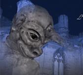 Fons de pantalla de la Festa del Renaixement - la Gàrgola i la Donzella